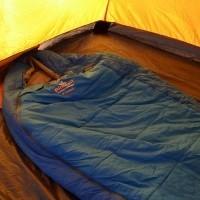 Спальники с двухслойным каскадным утеплителем