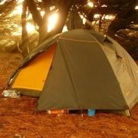 Палатки с каркасом из стекловолокна