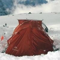Палатки со снежной юбкой