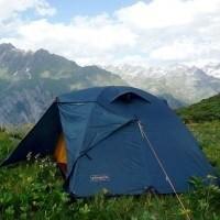 Палатки купольного типа