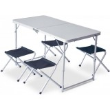Набор раскладной стол и 4 табуретки Pinguin Furniture set Table L with 4 Jack Stools