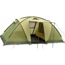 Четырёхместная палатка Pinguin Base Camp 4 Green