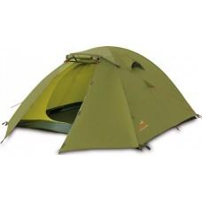 Трёхместная палатка Pinguin Bora 2+1 Green